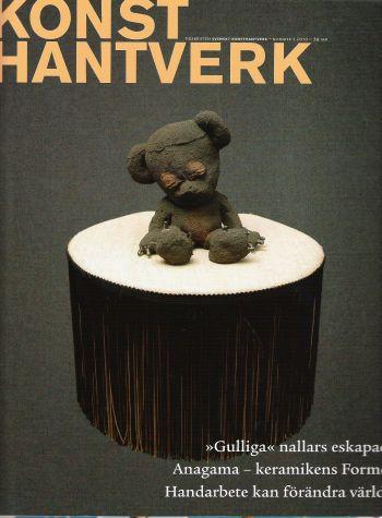 """Konsthantverk"" 1 2010 - omslag"